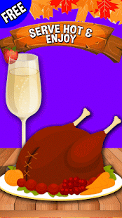 Turkey Roast:Thanksgiving game - náhled