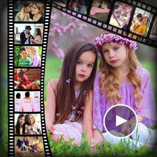 Friendship Day Video Maker-Slideshow maker