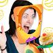 顔のケーキ抗ストレス冗談 - Androidアプリ