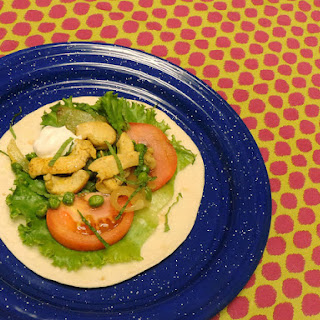 Curried Chicken Wraps!