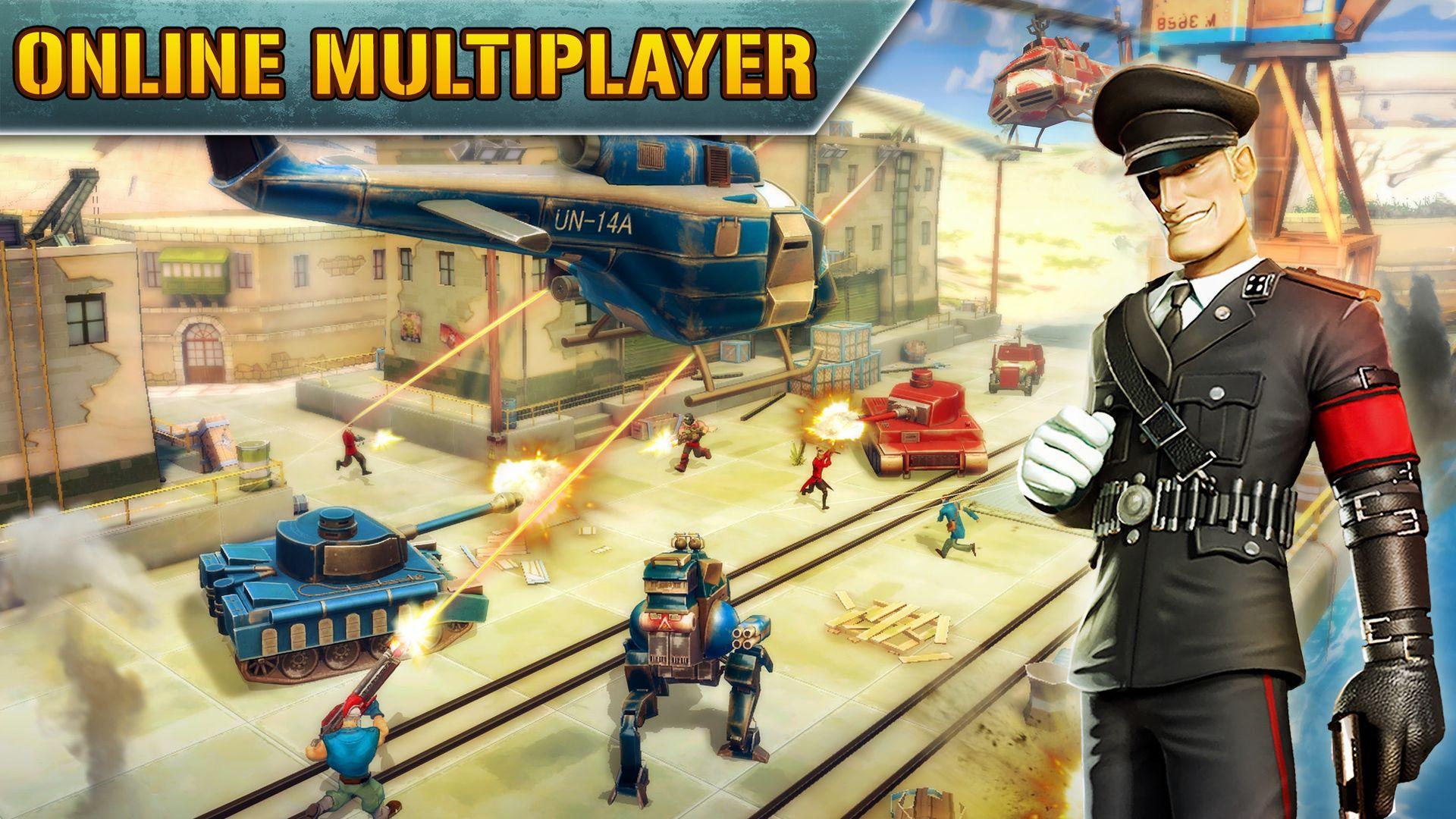 Blitz Brigade - Online FPS fun screenshot #8