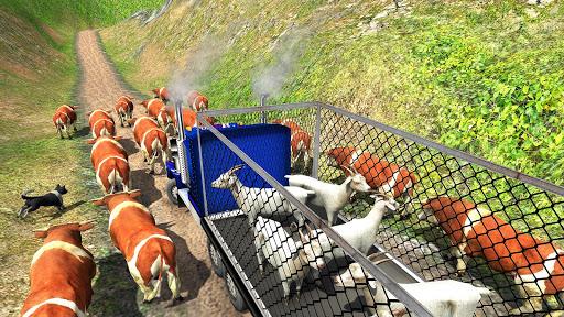 Offroad Farm Animal Truck Driving Game 2018 1.2 screenshots 9