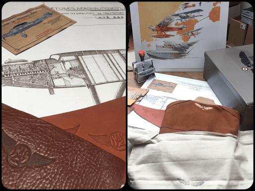 foulard laté 21 laté coère hydravion aéropostale