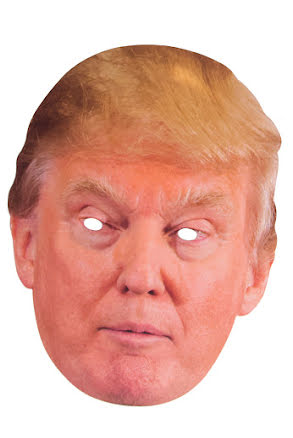 Pappmask, Trump