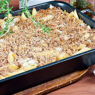 Jamie Oliver's 30 Minute Cauliflower Macaroni Cheese.