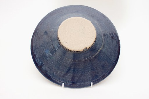 Dan Kelly Ceramic Blue Dish