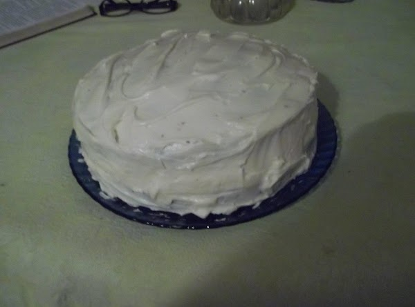 BEAT CREAM CHEESE ,BUTTER AND VANILLA TIL CREAMY ADD POWDERED SUGAR SLOWLY . ICING...