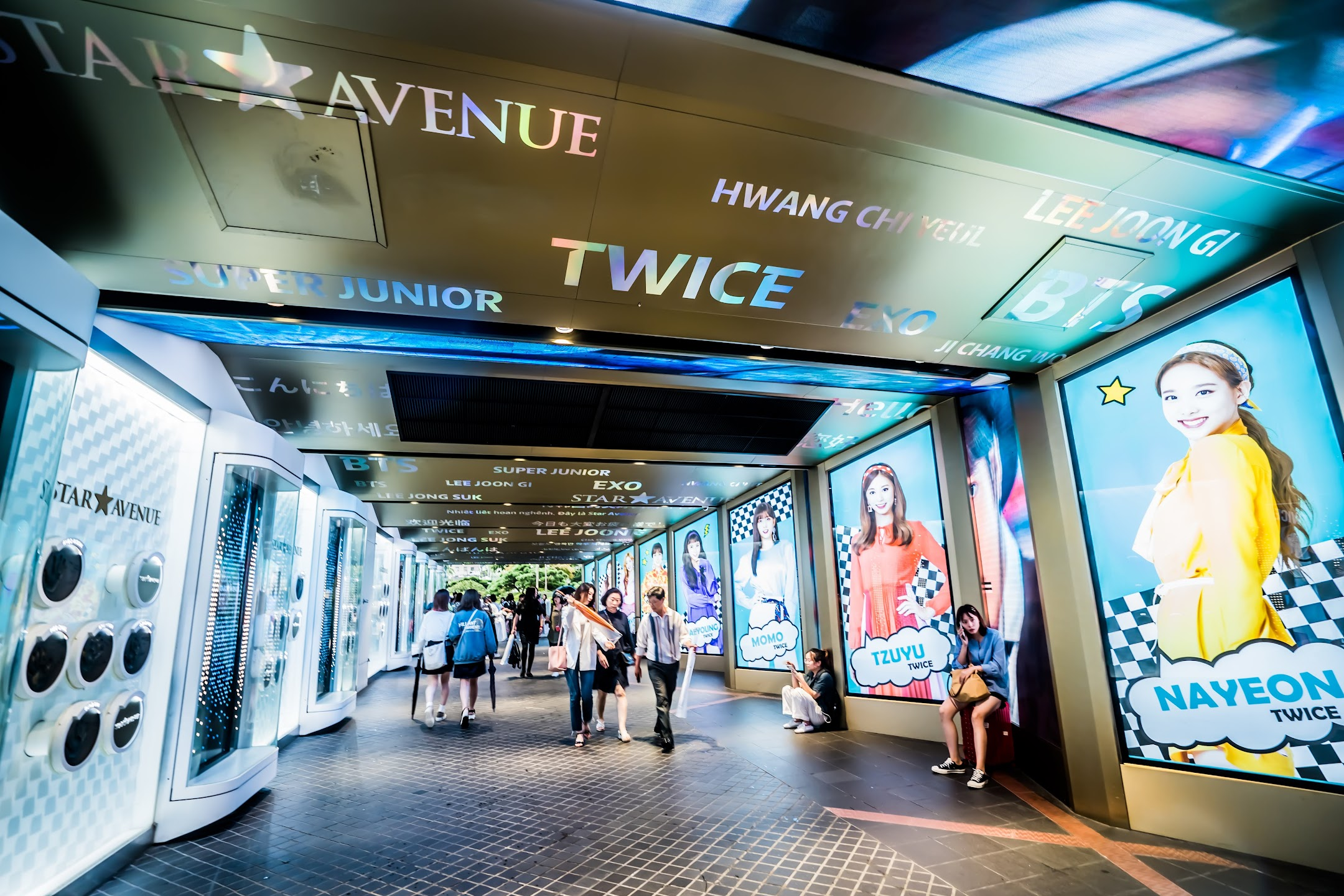 Seoul Myeong-dong Star Avenue2