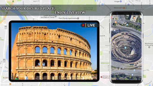 Live Earth Map 2020 -Satellite & Street View Map 2.1 screenshots 7