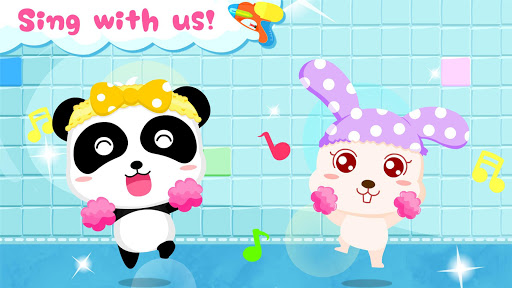 Baby Panda's Bath Time apkpoly screenshots 3