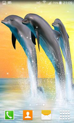 Dolphin Live Wallpapers - screenshot