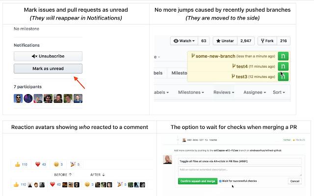Refined GitHub