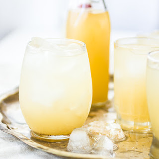 Nim Nam {Ginger-Vodka Cordial with Vanilla, Lemon, and Honey}