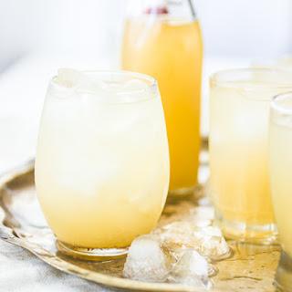 Nim Nam {Ginger-Vodka Cordial with Vanilla, Lemon, and Honey}.