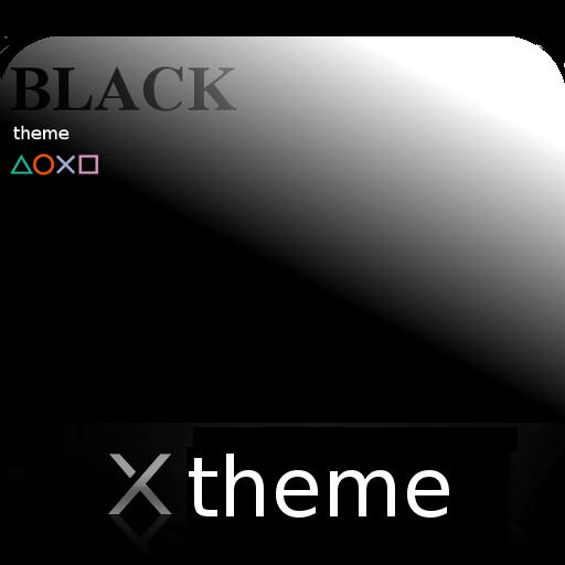 Black theme for XPERIA