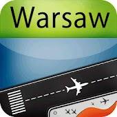 Warsaw Airport + Radar (WAW)