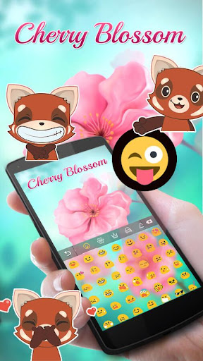 玩免費個人化APP|下載Flower Blossom Keyboard Theme app不用錢|硬是要APP