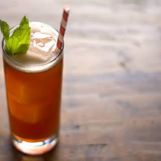 Raspberry and Rum Iced Tea.