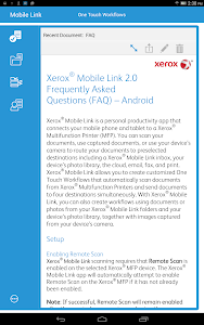 Xerox® Mobile Link screenshot 9