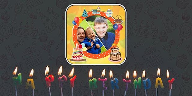 Birthday Photo Frame- screenshot thumbnail