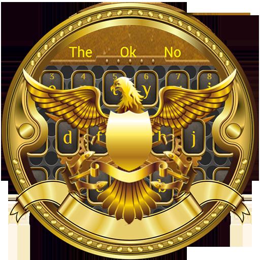 American golden eagle keyboard theme