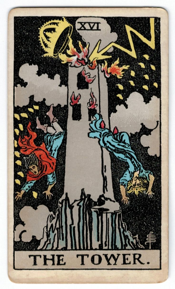 Tarot Cards And Important Life Events: Tower Tarot Card Meaning