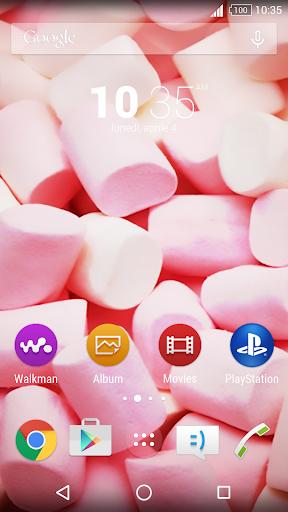 Marshmallows: Pink Xpera Theme