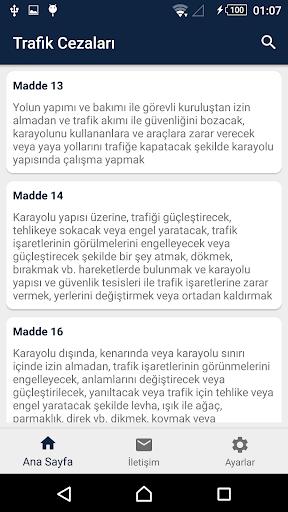 Trafik Ceza Rehberi 2018 screenshot 3