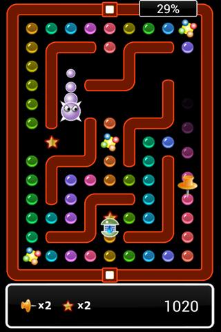 Pac Bub - στιγμιότυπο οθόνης