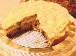 Streusel Cake Using A Muffin Mix.