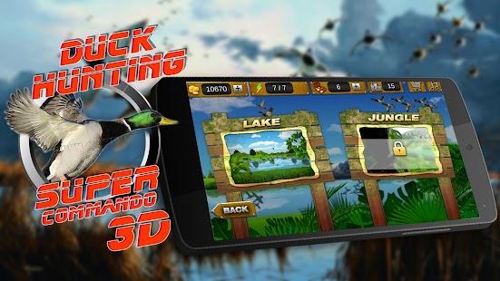 Super Duck Hunting Commander - náhled