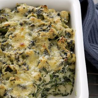 Creamy Spinach Pasta Casserole