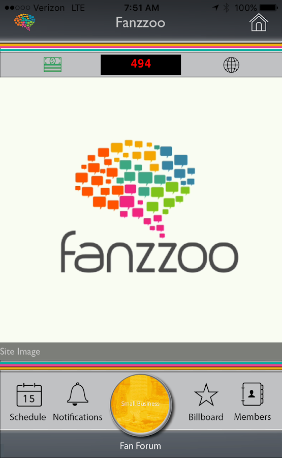 Fanzzoo- screenshot