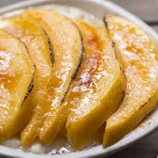 Mango Rice Pudding Brulee.