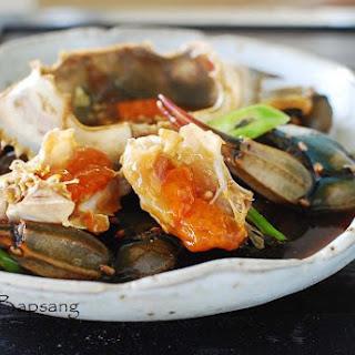 Ganjang Gejang (Raw Crabs Marinated in Soy Sauce)