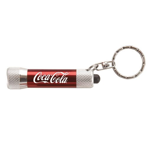 Keyring Torch to Laser Engrave - Red Shiny
