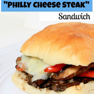 "Portobello ""Philly Cheese Steak"" Sandwiches"