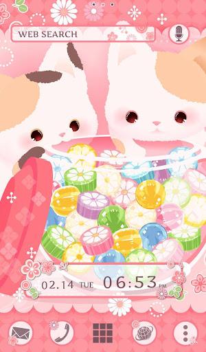 Cute Theme-Candy Cats- 2.0.0 Windows u7528 1