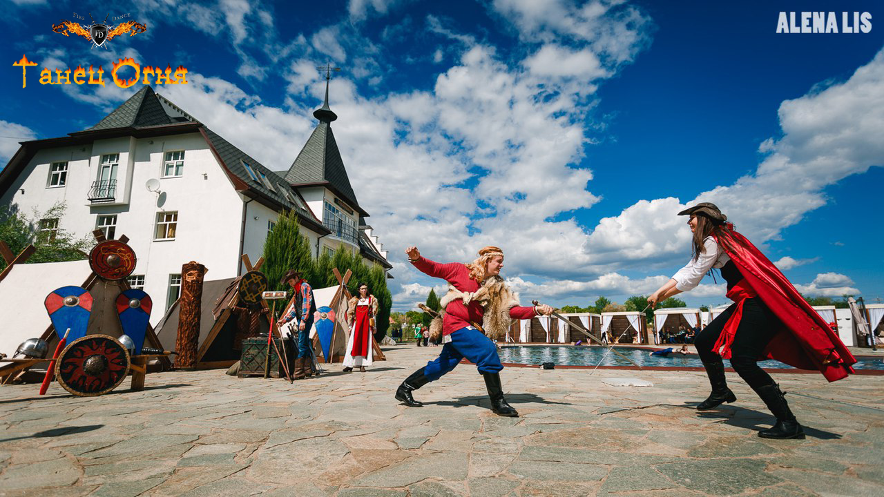 Танец Огня в Саратове