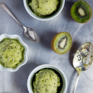 Kiwi Lime Sorbet Recipe