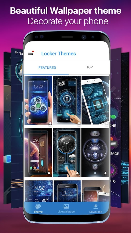 Free Fingerprint Scanner Lock Prank- screenshot