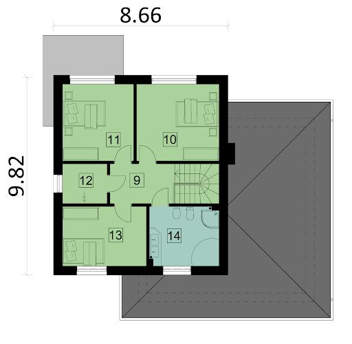 Ka35 - Rzut piętra