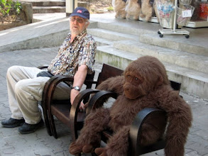 Photo: Of course you can always buy a furry companion to hug, sit beside, or carry with you as you travel - hmmm