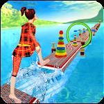 Water Run Game, Real Stuntman Icon
