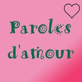 Paroles d'amour