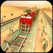 Zombie Train War - Zombie Train Shooting Game