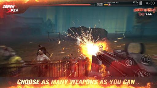 Zombie Defense Shooting: Be Kill Shot hunting king  captures d'écran 1