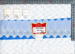 Photo: №731939-002綿レース:巾70mm