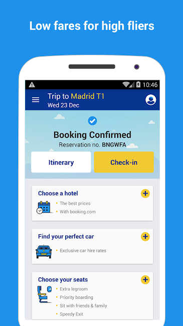 #3. Ryanair - Cheapest Fares (Android)