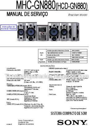 Sony Mhc Gn880 Manual Espanol